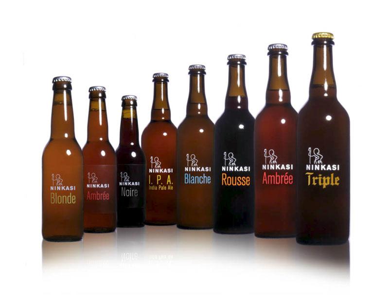 Gamme des bouteilles Ninkasi