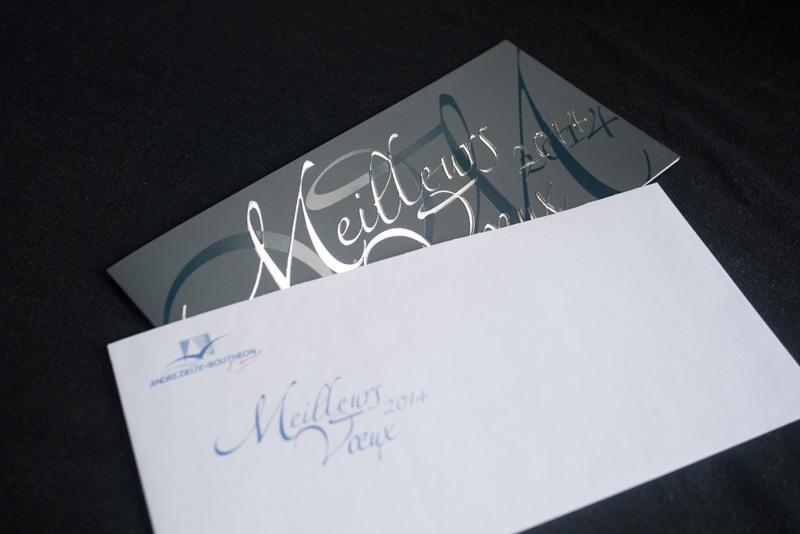 Le carton et son enveloppe