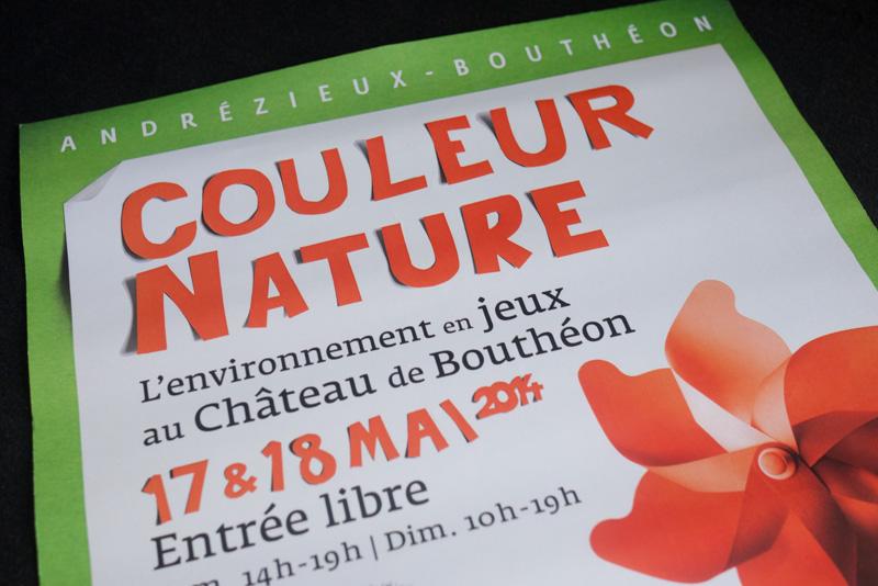 Couleur Nature, l'environement en jeux au Château de Bouthéon